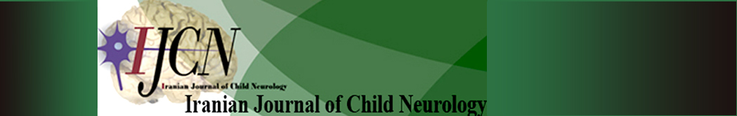 Iranian Journal of Child Neurology